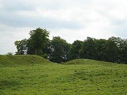 Danebury Hill Fort entrance - panoramio