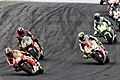 Dani Pedrosa in the group 2014 Phillip Island.jpeg
