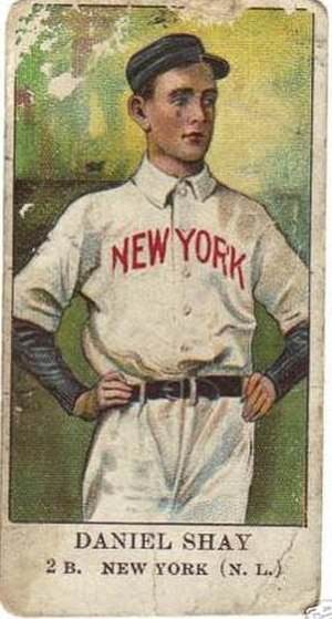 Danny Shay - Image: Daniel Shay baseball card 1910