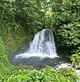 Danta Falls (Chato Volcano, Arenal Volcano National Park, Costa Rica, Central America) (26724386008).jpg