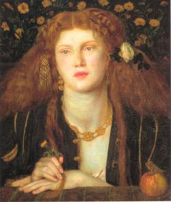 Dante Gabriel Rossetti Bocca Baciata 1859.png
