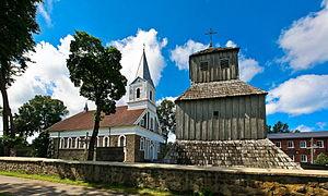 Darbėnai - Image: Darbenai church