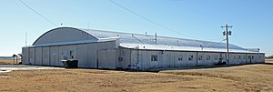 National Register of Historic Places listings in Kay County, Oklahoma - Image: Darr School of Aeronautics Hangar