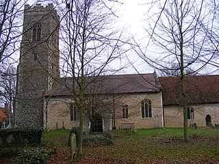 Darsham village in the United Kingdom