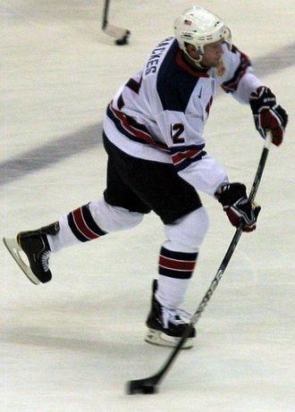 David Backes - Image: David Backes 2010Winter Olympics