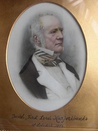 Little Wonder (horse) - Little Wonder's owner, David Robertson, who became Lord Marjoribanks in 1873.