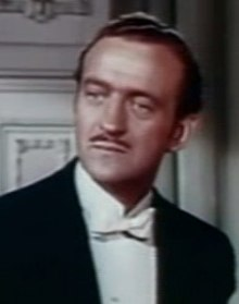 David Niven en 1950 en a cinta The Toast of New Orleans