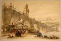 David Roberts 1837 Toledo Bridge in Madrid.png
