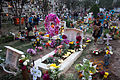Day of the dead at mexican cemetery 4.jpg