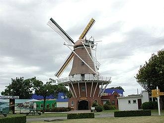 Foxton, New Zealand - de Molen Windmill