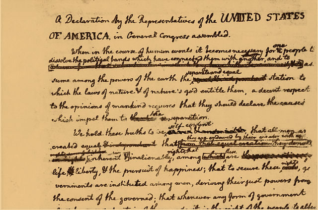 File:Declaration of Independence draft (detail with ...