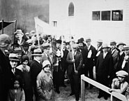 Dedication of the new Synagogue
