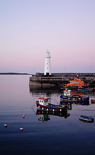 Donaghadee Lighthouse Lighthouse in Northern Ireland