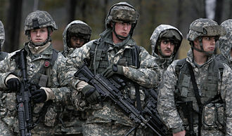 Tennessee Army National Guard - Tennessee Army National Guard participates in training in preparation for deployment to Iraq, 2009