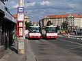 Dejvice, Evropská, zastávka do Roztok a autobusy 161 a 340.jpg
