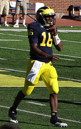 Denard Robinson - Robinson at Michigan Stadium