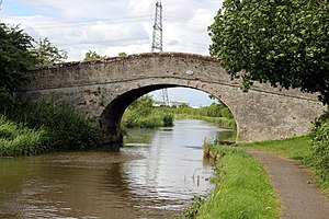 Listed buildings in Stoke, Cheshire West and Chester - Image: Dension's Bridge