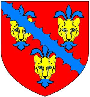 Gilbert Denys - Image: Denys Of Siston Gloucestershire Arms