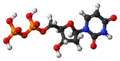 Deoxyuridine diphosphate 3D ball.png