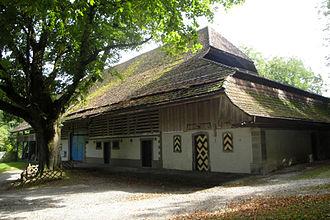 Rümligen Castle - One of the outbuildings of the castle