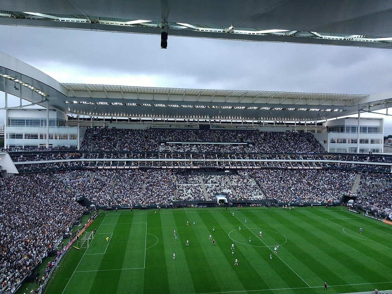 Estadio Arena Corinthians, São Paulo, Brasil