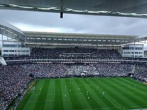 f935262b5e8a8 Derby 355 entre Corinthians e Palmeiras na Arena Corinthians pelo  Campeonato Brasileiro de 2017. Partida válida pela 32° rodada vencida pelo  Corinthians por ...
