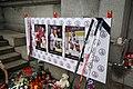 Detail of board of Memorial of 2011 Yaroslavl plane crash Czech victims in Liberec, Liberec District.jpg