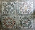 Detailed mosaics - Peristyle - Villa Romana del Casale - Italy 2015.JPG