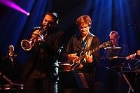 Deutsches Jazzfestival 2013 - HR BigBand - Ibrahim Maalouf und Martin Scales - 02.JPG