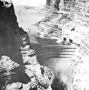 Dez River - Dez River Dam
