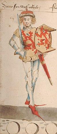 Dirk V, Count of Holland, by Hendrik van Heessel.jpg