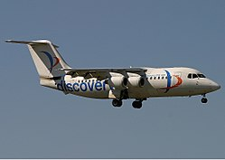 Discovery Aviation BAe 146-200 Lebeda.jpg