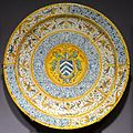 Dish, Italy, Urbino, late 1500s, maiolica - Museum of Anthropology, University of British Columbia - DSC08987.jpg