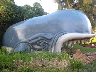Storybook Land Canal Boats - Monstro, eye partially closed.