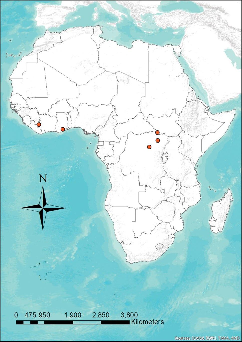 Distribution map of Niumbaha superba - ZooKeys-285-089-g007.jpeg