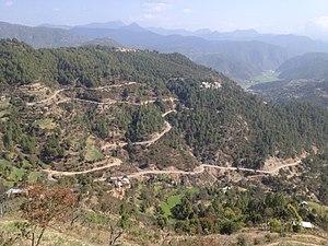 Salyan, Nepal - Image: District Health Office and District Hospital, Salyan khalanga