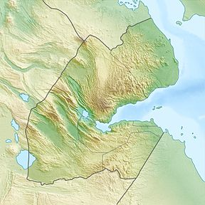 Ardoukoba أردوكوبا is located in Djibouti