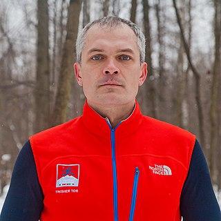 Dmitry Erokhin Russian ultra-marathoner and adventurer, public figure, sports executives and administrators