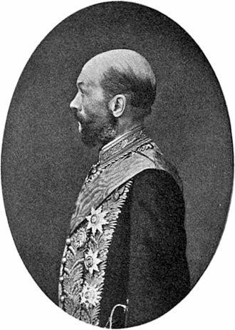 Vladimir Nabokov - The author's grandfather Dmitry Nabokov, Justice Minister under Tsar Alexander II.