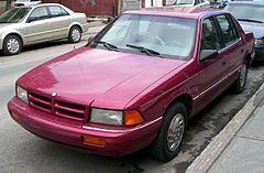 Dodge Spirit – Wikipedia, wolna encyklopedia on harley-davidson neon, dodge neon, fresh air door 2002 neon, exotic cars neon, nissan neon, venom gt neon, mustang neon, plymouth neon,