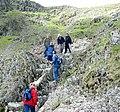 Dodgy descent - geograph.org.uk - 451997.jpg