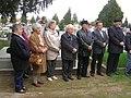 Dombóvár, Giesswein Sándor emléktábla-avató ünnepségének díszvendégei 2012.jpg
