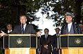 Donald Rumsfeld and Hamid Karzai in August 2004.jpg