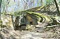 Donndorf - Fantaisie Schlosspark - Strohhütte 01 (15.04.2007).jpg
