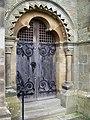 Door to St Hilda's Church, Egton - geograph.org.uk - 595865.jpg