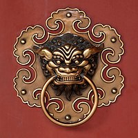 Doorknob buddhist temple detail amk.jpg