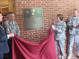 Desmond Doss - Doss Hall renaming ceremony