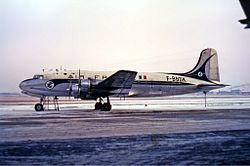 Douglas DC-4-1009, F-BBDK, Air France Manteufel-1.jpg