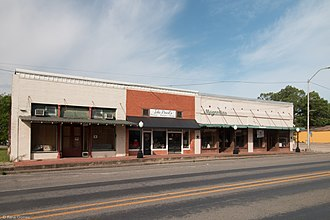 Hubbard, Texas - Buildings in downtown Hubbard