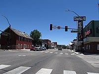 Downtown Gardnerville, Nevada 06-26-2012.jpg